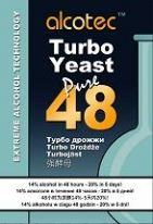 10 Pack by Alcotec 48 Dual Turbo Yeast Plus 1kg (2 litres) FREE Alcotec Spirit Carbon